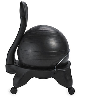 GAIAM BALANCE BALL CHAIR-Best Exercise Ball Chairs