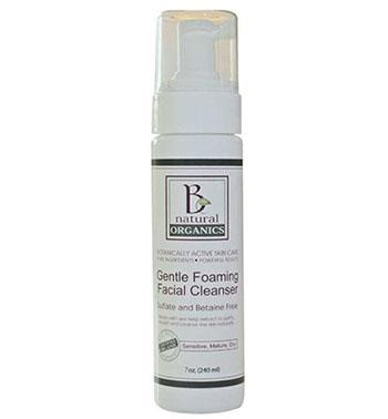 Be Naturals Organics Gentle Facial Cleanser