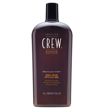 American Crew Firm-Hold Styling Hair Gel, 33.8-Ounce Bottle-Best Hair Gels for Men