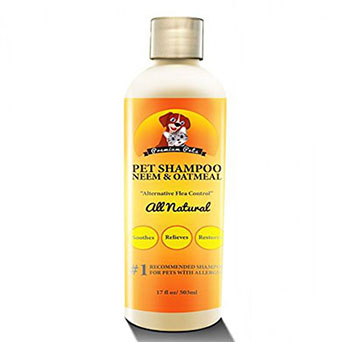 Premium Pets Shampoo and conditioner with Oatmeal and Neem Oil Dog Shampoo and Conditioner-17oz