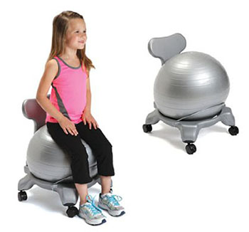 AEROMATIC KIDS EXERCISE BALL CHAIR
