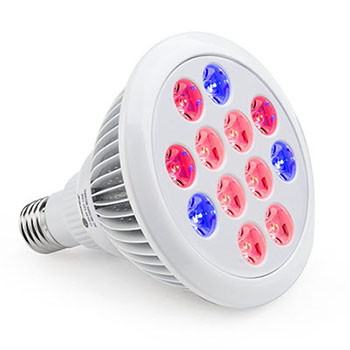 Tao Tronics Grow light Bulb, the Miracle Plant Light for the Hydropoics Greenhouse Organic (E- 27 12w 3 Bands