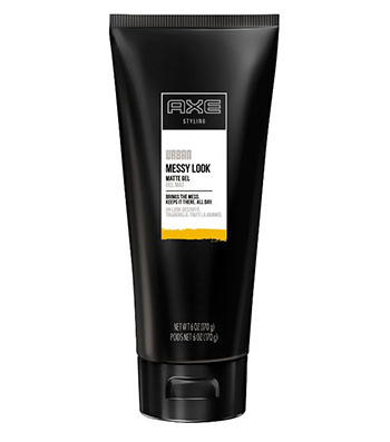 AXE Messy Look Hair Gel, Matte 6 oz