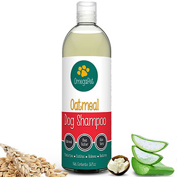 Dog Shampoo with Oatmeal, Aloe, Shea Butter and Conditioners