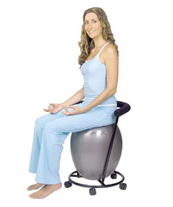 ERGO CHAIR ERGONOMIC CHAIR WITH EXERCISE BALL