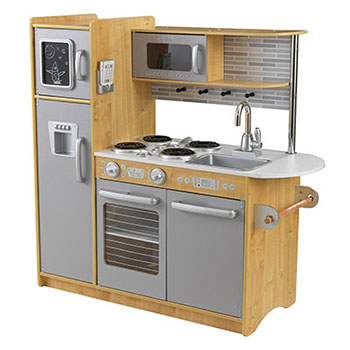 KidKraft Uptown Kitchen (Natural)-Best kids' kitchens