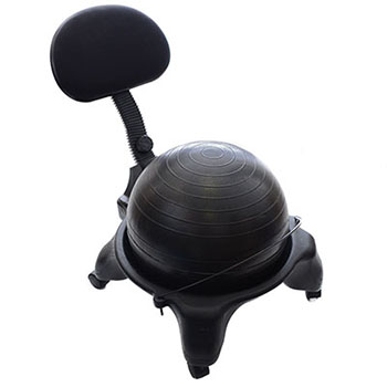 MILLIARD OFFICEFIT ADJUSTABLE FITNESS BALL CHAIR