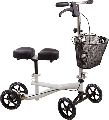 Roscoe Knee Scooter with Basket, With basket-Best Mobility Scooters