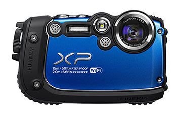 FUJIFILM FINE PIX XP200 WATERPROOF CAMERA
