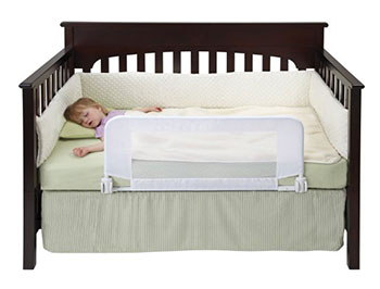 DexBaby Safe Sleeper Convertible Crib Bed - Reinforced Anchor Safety