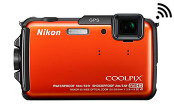 NIKO COOLPIX AW110 WATERPROOF CAMERA