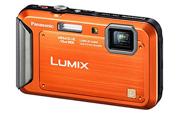 PANASONIC LUMIX TS20 WATERPROOF CAMERA