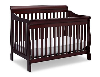 Delta Children Canton 4-in-1 Convertible Crib-Espresso Cherry