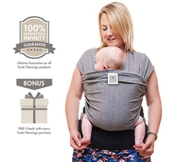 Funki Flamingo premium baby carrier