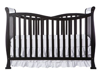 Dream On Me Violet 7 in 1 Convertible LifeStyle Crib-Black