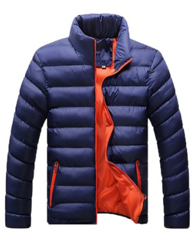 W&C Men's Weatherproof Packable Down Puffer Coat Lightweight Down Winter Jacket
