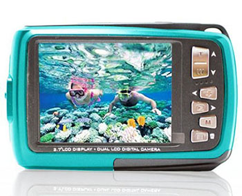 SVP AQUA 5500 DUAL SCREEN WATERPROOF CAMERA