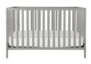 Union 3-in-1, Convertible Crib-Grey