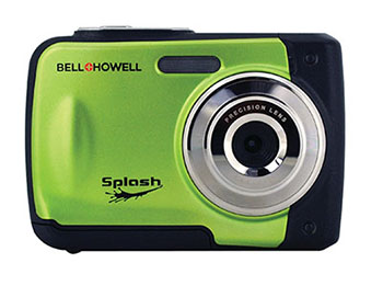 BELL+HOWELL WP10-G SPLASH WATERPROOF CAMERA