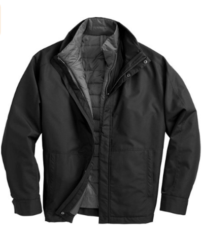 Systems Jacket With Puffer Liner. F141312-Weatherproof & Windproof Jackets for Men