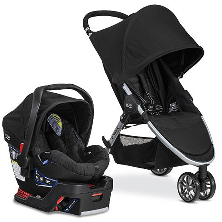 Britax B-safe/B-agile 35 Travel System