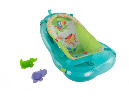 Fisher-Price Rainforest Friends Baby Bath Tub