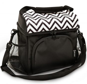 Freddie and Sebbie Insulated Cooler Lunch Bag for Bento / Lunch Box