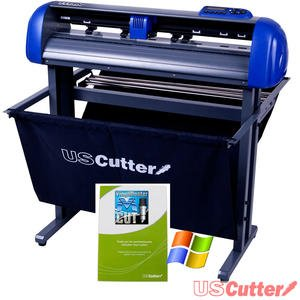 this vinyl cutter from the titan series of uscutter is undoubtedly one of the best machines that you can choose this titan cutting machine has 28 inch - Best Vinyl Cutter