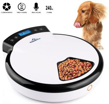 CanineStar Automatic Pet Feeders for Dogs and Cats