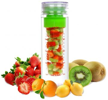LA Organics-Fruit Infuser Water Bottles