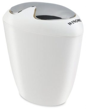 winomo bathroom trash can 65 liter 175 gallon trash - Bathroom Trash Can With Lid