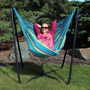 Sunnydaze-hammock-chair-with-stands