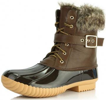 DailyShoes Women Duck Boots
