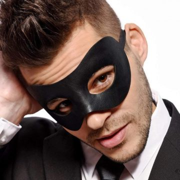 Fancy Goods Masquerade Masks for Men