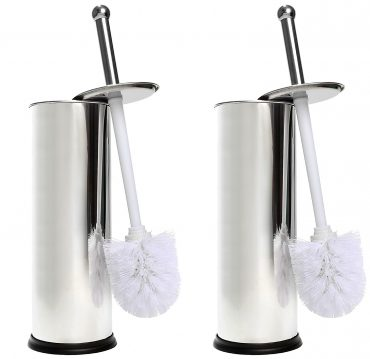 Home Intuition Toilet Brush and Holder