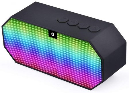 eCandy Portable LED Bluetooth Speakers