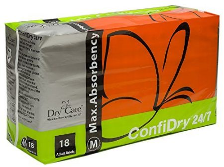 ConfiDry Adult Diapers with Tabs