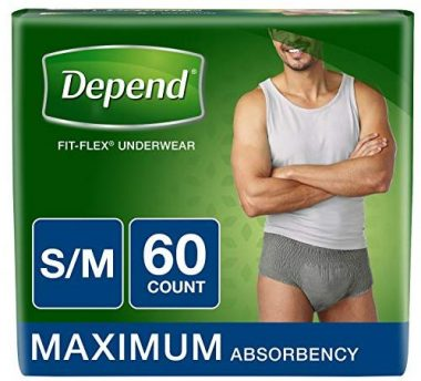 Depend Adult Diapers with Tabs