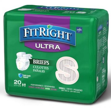 Medline Adult Diapers with Tabs