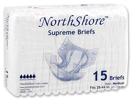 NorthShore Adult Diapers with Tabs