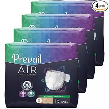Prevail Adult Diapers with Tabs