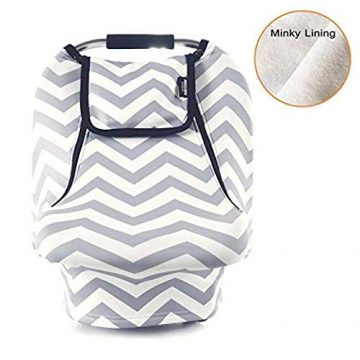 AMAZLINEN Baby Car Seat Covers for Girls