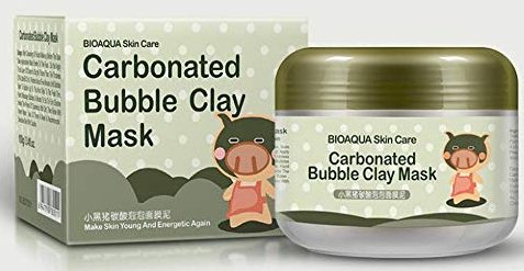 Hunputa Carbonated Bubble Clay Masks
