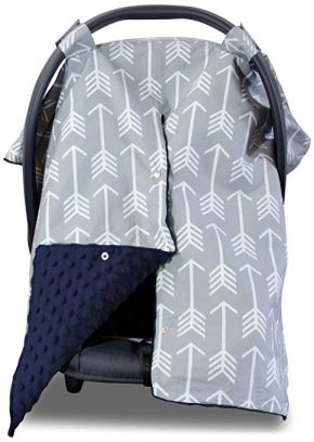 Kids N' Such Baby Car Seat Covers for Girls