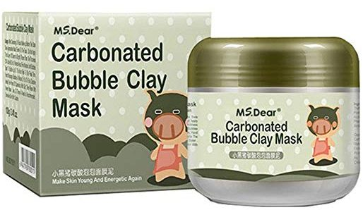 MS.DEAR Carbonated Bubble Clay Masks