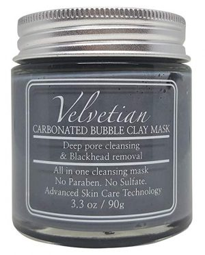 Velvetian Carbonated Bubble Clay Masks
