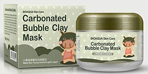 Wakeu Carbonated Bubble Clay Masks
