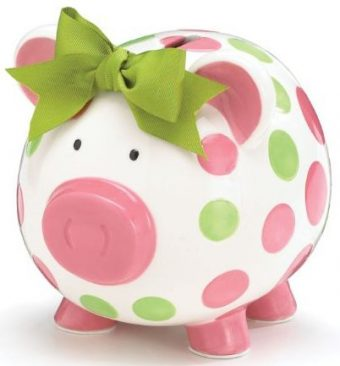 Burton & Burton Piggy Banks for Kids
