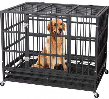QAQA Extra Large Dog Crates