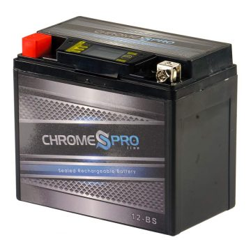 Chrome Pro Battery Motorcycle Batteries